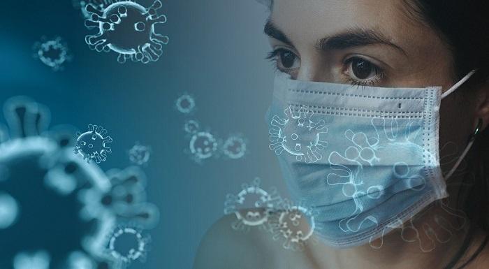 ウイルスとマスク
