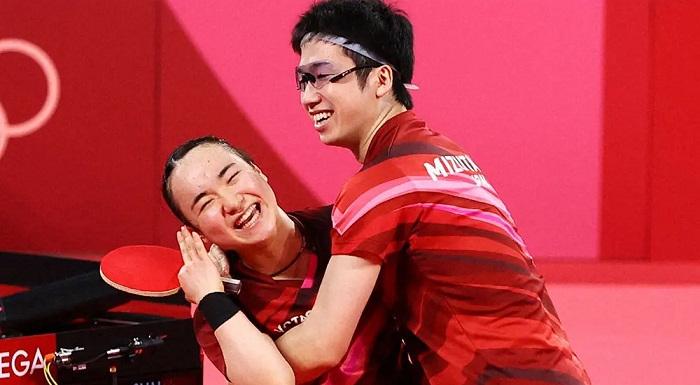 水谷隼・伊藤美誠 日本卓球界史上初の金メダル獲得