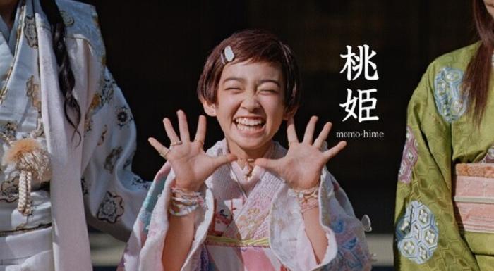au人気の三太郎CMシリーズに新キャラ「桃姫」登場!子役は誰?どんな子?